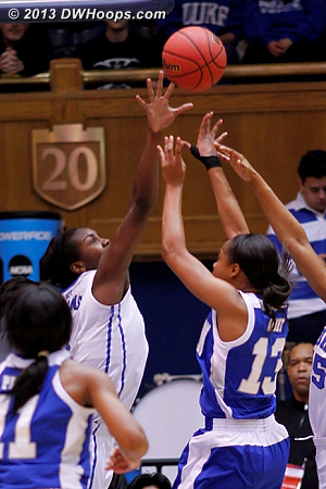 Rejection by Williams, one of three that she had  - Duke Tags: #1 Elizabeth Williams