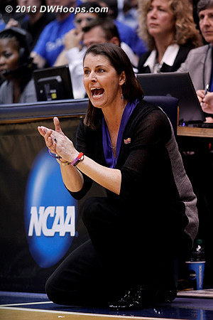 On the Duke bench, Coach P can feel it, next stop Sweet Sixteen  - Duke Tags: Joanne P. McCallie