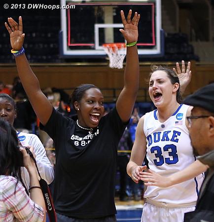 Sweet Sixteen!  - Duke Tags: #12 Chelsea Gray, #33 Haley Peters