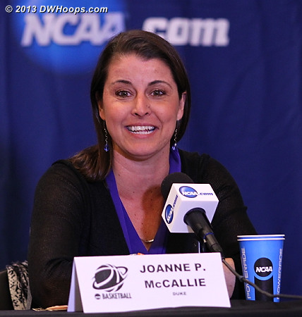 Press Conference  - Duke Tags: Joanne P. McCallie