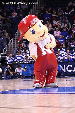 DWHoops Photo  - NEB Players: Mascot Lil' Red