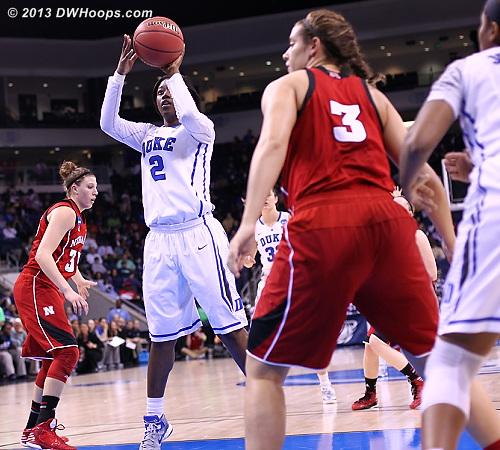 Jones hits, Duke trails 10-9  - Duke Tags: #2 Alexis Jones