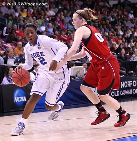 Jones breaks down the Nebraska defense, she would kick it back out