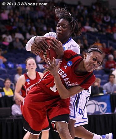 Held ball - stays with Duke.