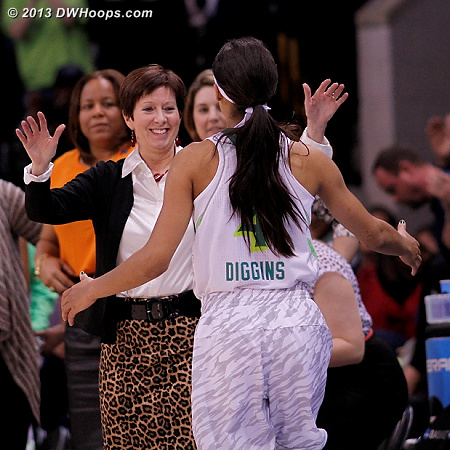Diggins exits the game, next stop Final Four  - ND Players: Head Coach Muffet McGraw, #4 Skylar Diggins