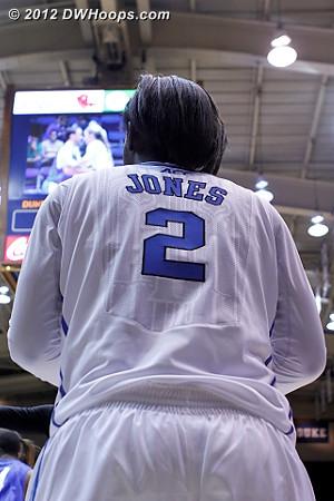 DWHoops Photo  - Duke Tags: #2 Alexis Jones