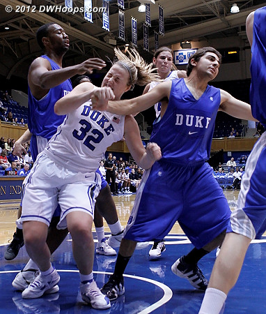 Ouch!  - Duke Tags: #32 Tricia Liston