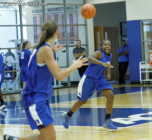 DWHoops Photo  - Duke Tags: #12 Chelsea Gray, #43 Allison Vernerey