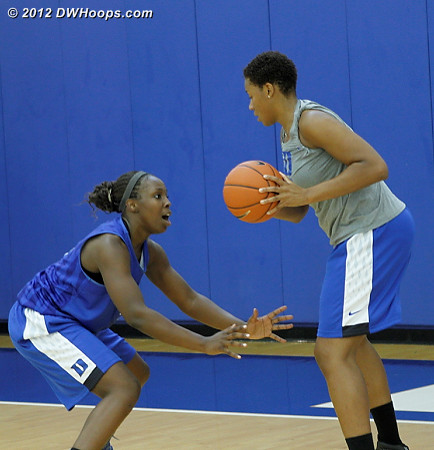 DWHoops Photo  - Duke Tags: #12 Chelsea Gray, Joy Cheek