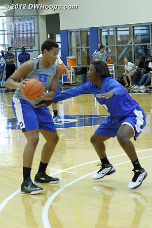 DWHoops Photo  - Duke Tags: #2 Alexis Jones, Joy Cheek