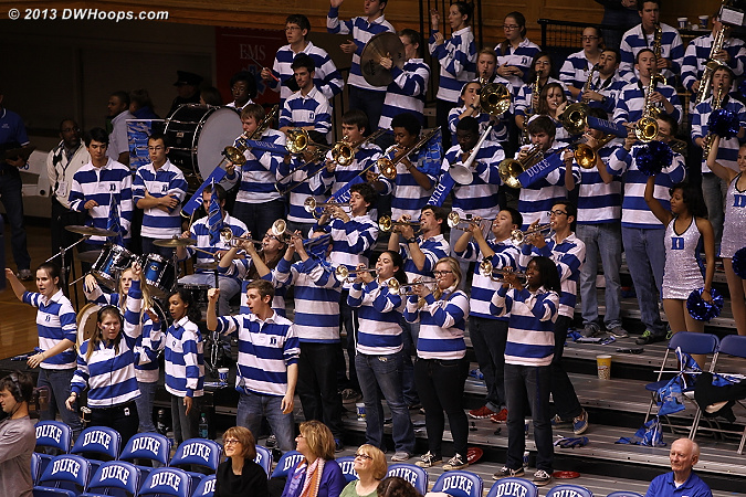 A little Trumpet Go-Go from the Duke Pep Band