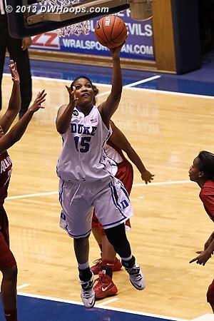 Richa Jackson scores a layup