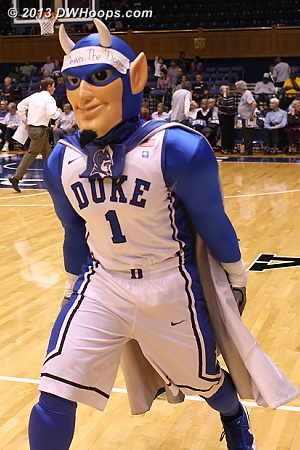 Halftime - Duke 36, Vandy 34
