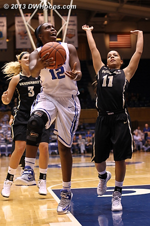 Chelsea Gray fouled, making the continuation basket
