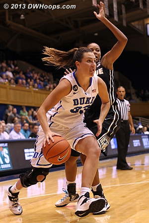 Haley also scored double digits in the second half after just two points in the first