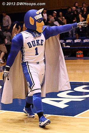Devil celebrates the Duke win