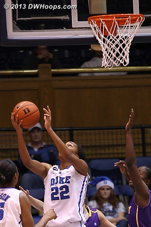 Oderah hits the reverse, Duke goes up 34-26 after trailing by as much as seven