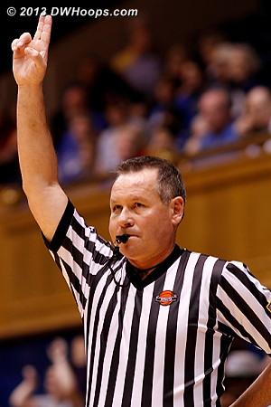 Referee Bryan Brunette