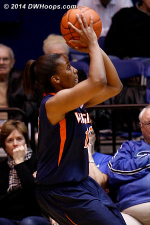 ACCWBBDigest Photo  - UVA Players: #12 Breyana Mason