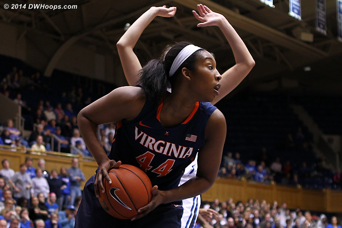 ACCWBBDigest Photo  - UVA Players: #44 Sydney Umeri