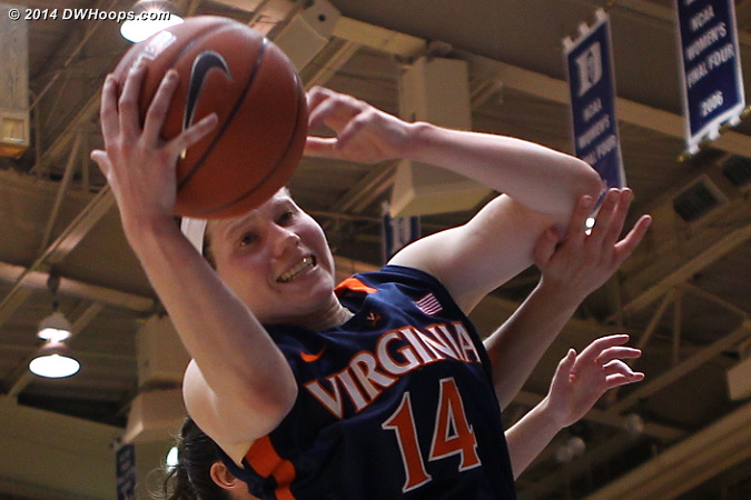 ACCWBBDigest Photo  - UVA Players: #14 Lexie Gerson