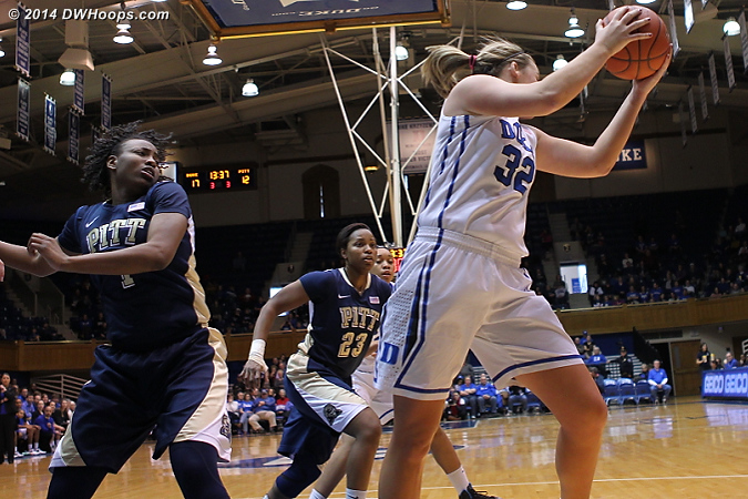 Tricia Liston career rebounding average: 4.1.  This season to date: 5.8, high of 12.