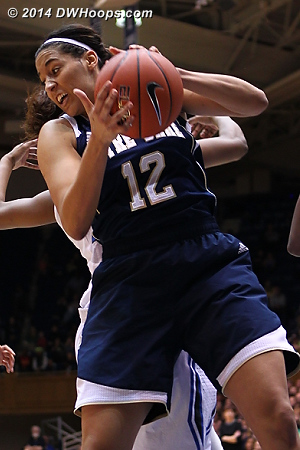 Offensive rebound - not a lot of them to get when you shoot 62.5%  - ND Players: #12 Taya Reimer