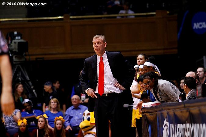 Winthrop head coach Kevin Cook