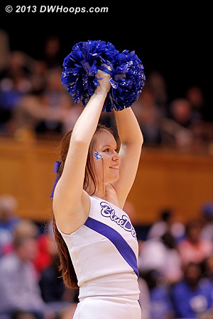 DWHoops Photo  - Duke Tags: Duke Cheerleaders