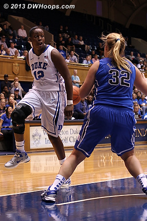 Chelsea goes behind the back  - Duke Tags: #12 Chelsea Gray
