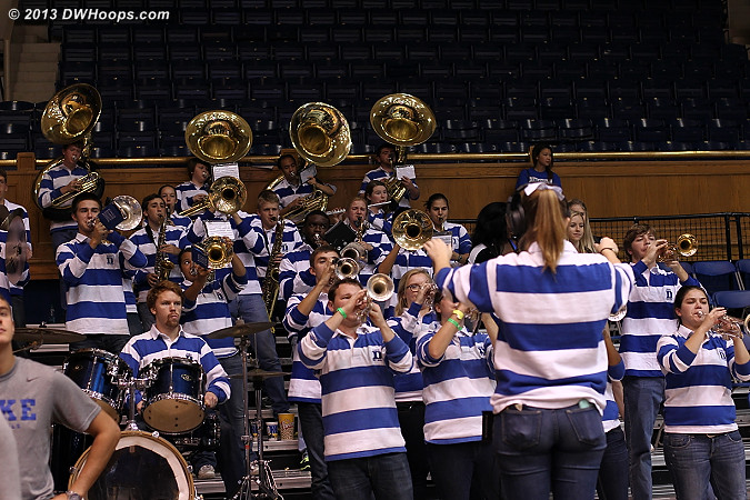 Thank you, pep band!  - Duke Tags: Duke Pep Band
