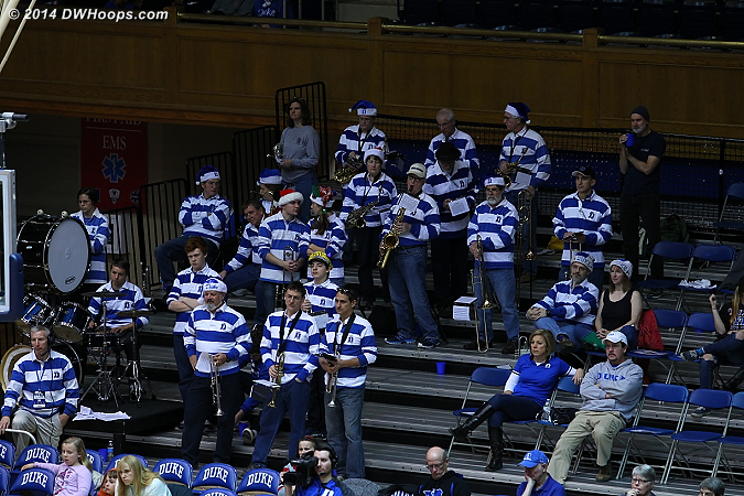 Thanks Duke Alumni Band!  - Duke Tags: Duke Pep Band