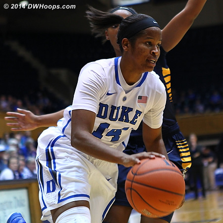 Johnson followed up her triple double with a four point, six rebound, and six assist performance