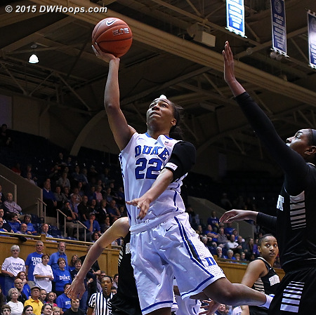 Chidom's eight first half bench points were also key in the Blue Devil comeback  - Duke Tags: #22 Oderah Chidom