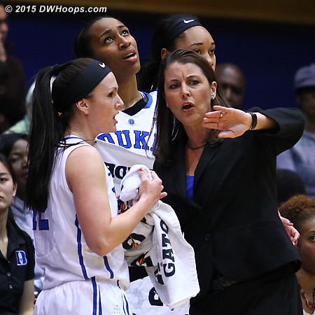 DWHoops Photo  - Duke Tags: Joanne P. McCallie , #12 Mercedes Riggs