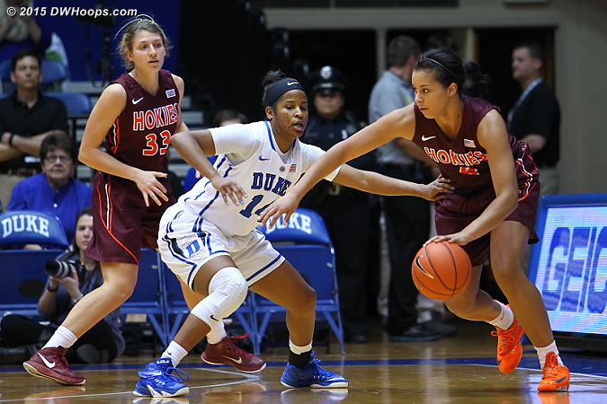 Ka'lia on D  - Duke Tags: #14 Ka'lia Johnson