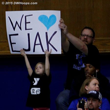 Three EJAK starters and Jenna finished it