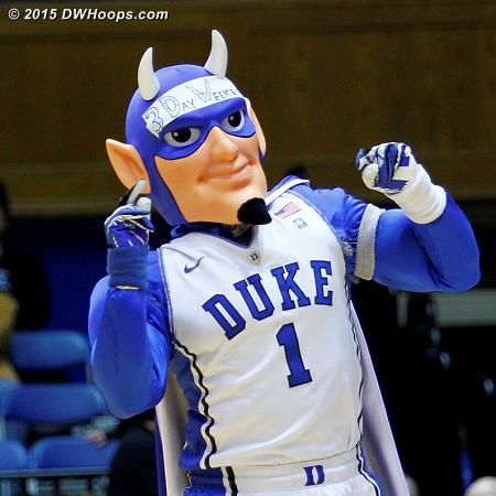 DWHoops Photo  - Duke Tags: Duke Blue Devil Mascot