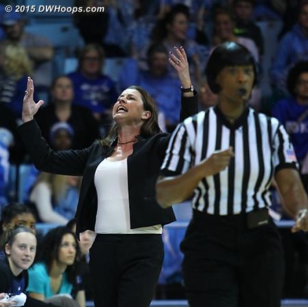 Coach P has had enough of Carla Fountain