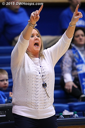 Pitt head coach Suzie McConnell-Serio