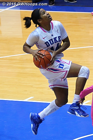 Air Johnson!  - Duke Tags: #14 Ka'lia Johnson