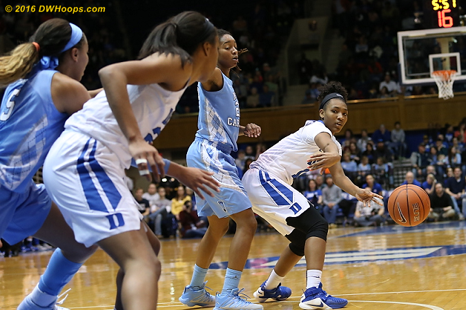 Primm feeds the post  - Duke Tags: #13 Crystal Primm