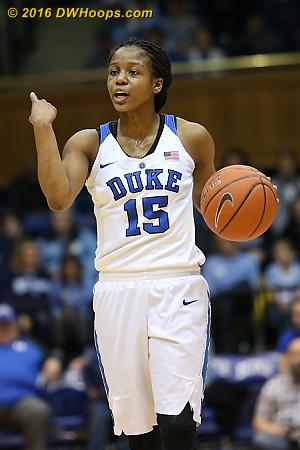 Lambert running the Duke offense