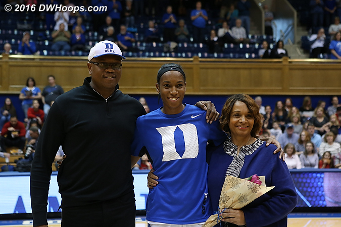 Senior Day  - Duke Tags: #30 Amber Henson