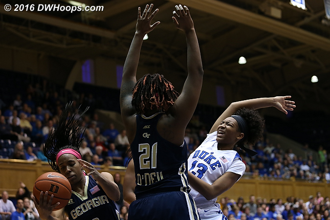DWHoops Photo  - Duke Tags: #13 Crystal Primm
