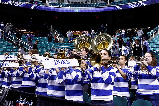 The Duke Pep Band did a great job as well.  Thank you!  - Duke Tags: Duke Pep Band