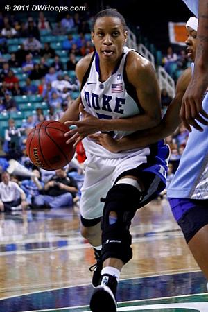 Haley wanna-be? :)  - Duke Tags: #5 Jasmine Thomas