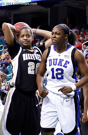 Chelsea says a very bad word  - Duke Tags: #12 Chelsea Gray - WF Players: #20 Brittany Waters