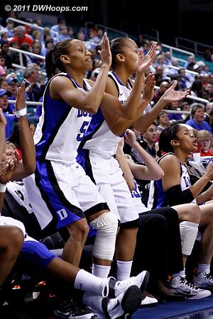Duke beats Wake 79-50 -- next up is fifth seed Georgia Tech  - Duke Tags: #5 Jasmine Thomas, #3 Shay Selby