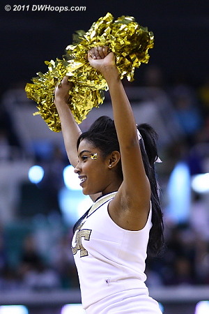 Georgia Tech cheerleader